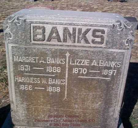BANKS, MARGARET A. - Adams County, Colorado | MARGARET A. BANKS - Colorado Gravestone Photos