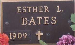 BATES,, ESTHER L. - Adams County, Colorado   ESTHER L. BATES, - Colorado Gravestone Photos