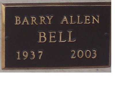 BELL,, BARRY - Adams County, Colorado | BARRY BELL, - Colorado Gravestone Photos
