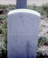 BENNETT, J. A. - Adams County, Colorado   J. A. BENNETT - Colorado Gravestone Photos