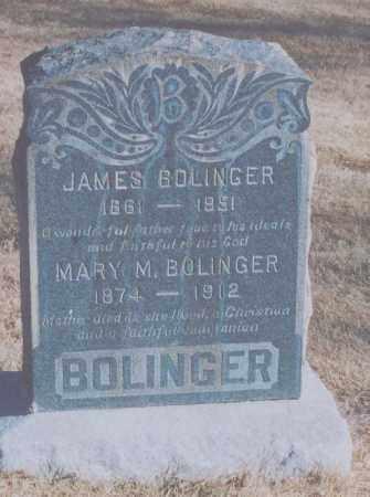 BOLINGER, MARY M. - Adams County, Colorado   MARY M. BOLINGER - Colorado Gravestone Photos