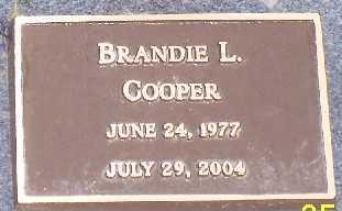 COOPER,, BRANDIE L - Adams County, Colorado | BRANDIE L COOPER, - Colorado Gravestone Photos