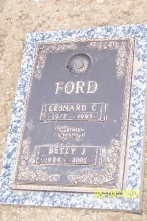 FORD, BETTY J - Adams County, Colorado | BETTY J FORD - Colorado Gravestone Photos