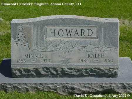 HOWARD, RALPH - Adams County, Colorado | RALPH HOWARD - Colorado Gravestone Photos