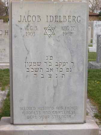IDELBERG, JACOB - Adams County, Colorado | JACOB IDELBERG - Colorado Gravestone Photos