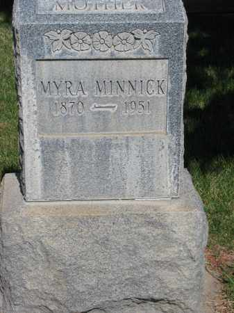 MINNICK, MYRA - Adams County, Colorado | MYRA MINNICK - Colorado Gravestone Photos