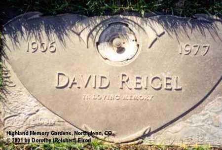 REIGEL, DAVID - Adams County, Colorado | DAVID REIGEL - Colorado Gravestone Photos