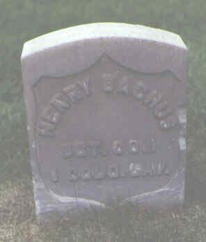 BACHUS, HENRY - Alamosa County, Colorado | HENRY BACHUS - Colorado Gravestone Photos