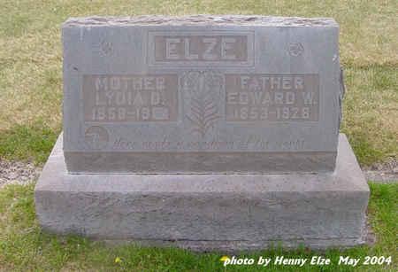 ELZE, EDWARD W. - Alamosa County, Colorado | EDWARD W. ELZE - Colorado Gravestone Photos
