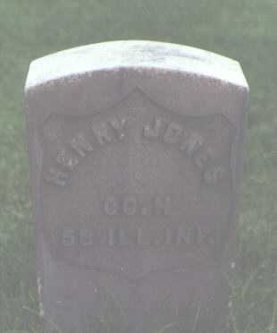 JONES, HENRY - Alamosa County, Colorado | HENRY JONES - Colorado Gravestone Photos
