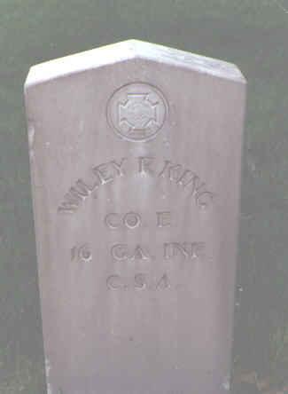 KING, WILEY F. - Alamosa County, Colorado | WILEY F. KING - Colorado Gravestone Photos