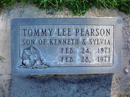 PEARSON, TOMMY LEE - Alamosa County, Colorado | TOMMY LEE PEARSON - Colorado Gravestone Photos
