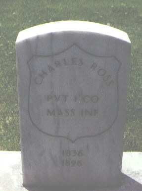 ROSS, CHARLES - Alamosa County, Colorado | CHARLES ROSS - Colorado Gravestone Photos