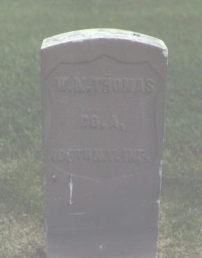 THOMAS, W. M. - Alamosa County, Colorado | W. M. THOMAS - Colorado Gravestone Photos