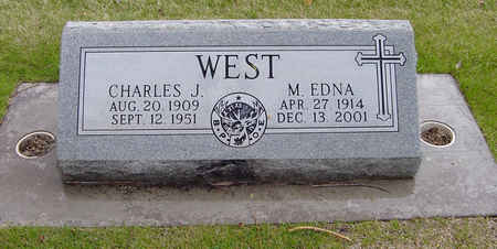 VOHS WEST, MARY EDNA - Alamosa County, Colorado | MARY EDNA VOHS WEST - Colorado Gravestone Photos