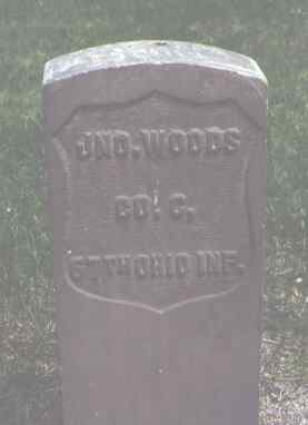 WOODS, JNO. - Alamosa County, Colorado | JNO. WOODS - Colorado Gravestone Photos