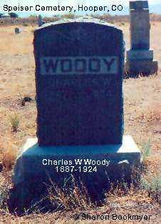 WOODY, CHARLES W. - Alamosa County, Colorado | CHARLES W. WOODY - Colorado Gravestone Photos