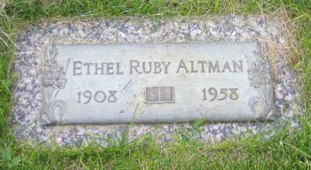 ALTMAN, ETHEL - Arapahoe County, Colorado | ETHEL ALTMAN - Colorado Gravestone Photos