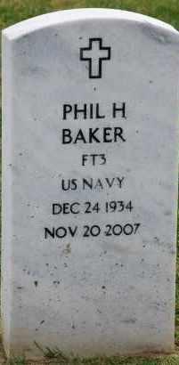 BAKER, PHIL HARRISON - Arapahoe County, Colorado | PHIL HARRISON BAKER - Colorado Gravestone Photos