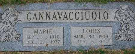 CANNAVACCIUOLO, MARIE - Arapahoe County, Colorado | MARIE CANNAVACCIUOLO - Colorado Gravestone Photos