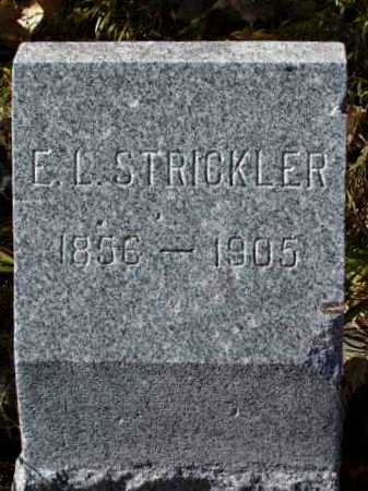 STRICKLER, E. L. - Arapahoe County, Colorado | E. L. STRICKLER - Colorado Gravestone Photos