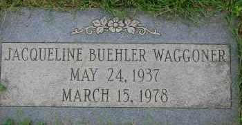 BUEHLER WAGGONER, JACQUELINE - Arapahoe County, Colorado   JACQUELINE BUEHLER WAGGONER - Colorado Gravestone Photos