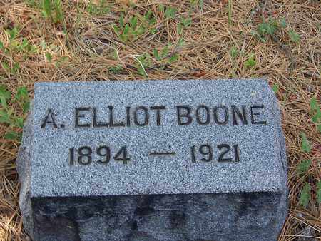 BOONE, A ELLIOT - Archuleta County, Colorado | A ELLIOT BOONE - Colorado Gravestone Photos