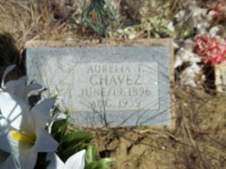 CHAVEZ, AURELIA T. - Archuleta County, Colorado   AURELIA T. CHAVEZ - Colorado Gravestone Photos