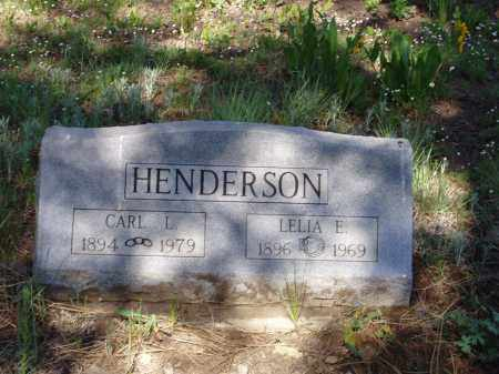 HENDERSON, CARL L - Archuleta County, Colorado | CARL L HENDERSON - Colorado Gravestone Photos