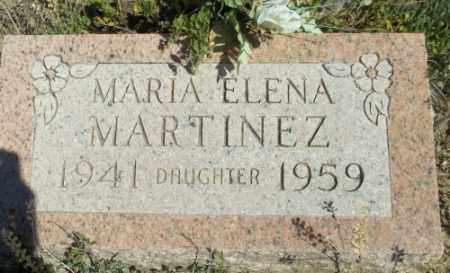 MARTINEZ, MARIA ELENA - Archuleta County, Colorado | MARIA ELENA MARTINEZ - Colorado Gravestone Photos