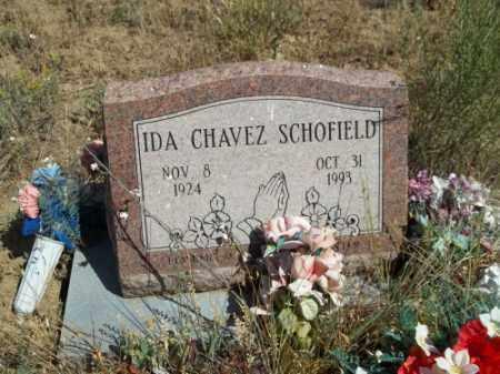 CHAVEZ SCHOFIELD, IDA - Archuleta County, Colorado | IDA CHAVEZ SCHOFIELD - Colorado Gravestone Photos