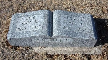ABBOTT, MARY ELIZABETH - Baca County, Colorado | MARY ELIZABETH ABBOTT - Colorado Gravestone Photos