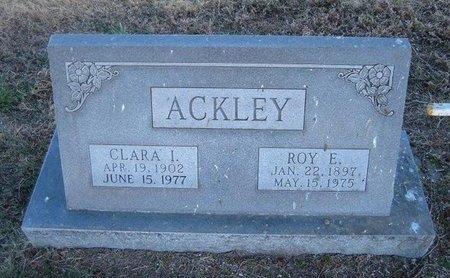 ACKLEY, ROY ELSIE - Baca County, Colorado | ROY ELSIE ACKLEY - Colorado Gravestone Photos