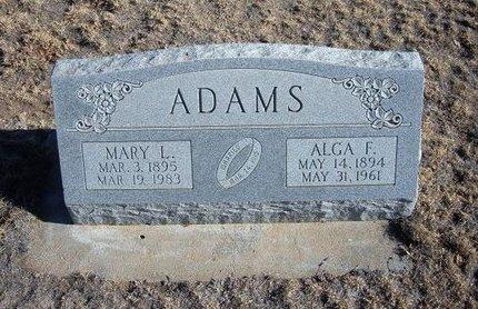 ADAMS, MARY L - Baca County, Colorado | MARY L ADAMS - Colorado Gravestone Photos