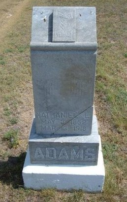 ADAMS, NATHANIEL L - Baca County, Colorado | NATHANIEL L ADAMS - Colorado Gravestone Photos