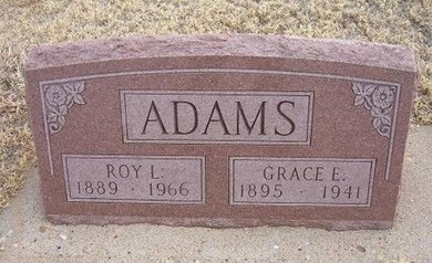 ADAMS, ROY LEE - Baca County, Colorado | ROY LEE ADAMS - Colorado Gravestone Photos