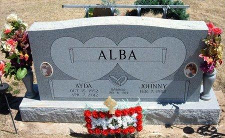 ALBA, AYDA - Baca County, Colorado | AYDA ALBA - Colorado Gravestone Photos