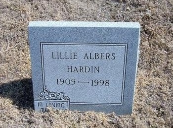 ALBERS, LILLIE - Baca County, Colorado | LILLIE ALBERS - Colorado Gravestone Photos