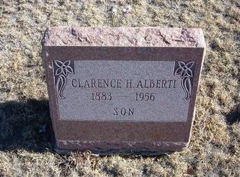 ALBERTI, CLARENCE HENRY - Baca County, Colorado   CLARENCE HENRY ALBERTI - Colorado Gravestone Photos