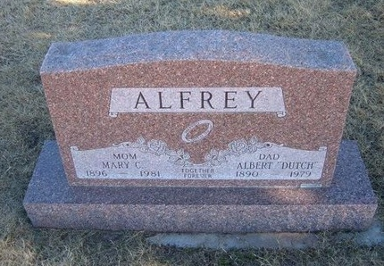 ALFREY, MARY C - Baca County, Colorado   MARY C ALFREY - Colorado Gravestone Photos
