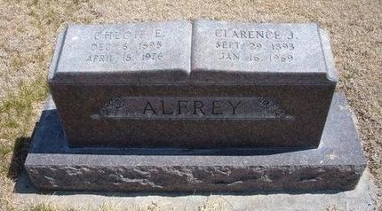 ALFREY, CHLOIE ELMIRA - Baca County, Colorado | CHLOIE ELMIRA ALFREY - Colorado Gravestone Photos