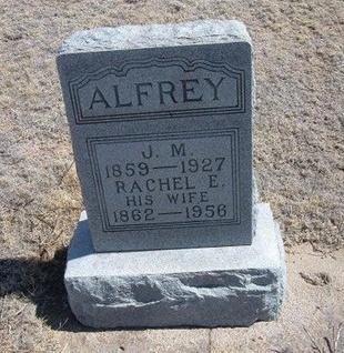 ALFREY, J M - Baca County, Colorado | J M ALFREY - Colorado Gravestone Photos