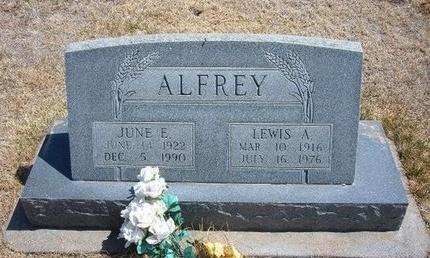 ALFREY, LEWIS A - Baca County, Colorado | LEWIS A ALFREY - Colorado Gravestone Photos