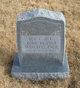 ALL, ICY C - Baca County, Colorado | ICY C ALL - Colorado Gravestone Photos