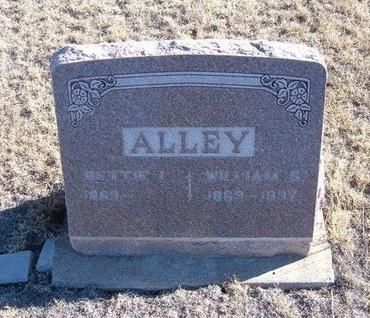 ALLEY, BETTIE L - Baca County, Colorado | BETTIE L ALLEY - Colorado Gravestone Photos