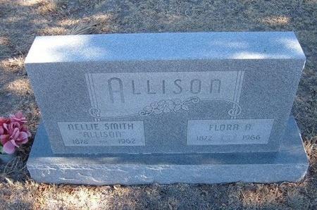 ALLISON, FLORA A - Baca County, Colorado | FLORA A ALLISON - Colorado Gravestone Photos