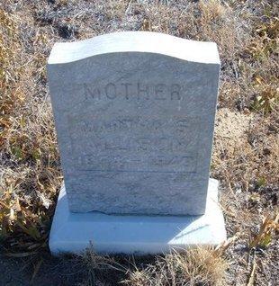 ALLISON, MARTHA S - Baca County, Colorado   MARTHA S ALLISON - Colorado Gravestone Photos