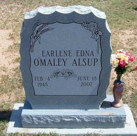 ALSUP, EARLENE EDNA - Baca County, Colorado   EARLENE EDNA ALSUP - Colorado Gravestone Photos