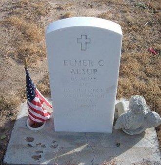 ALSUP (VETERAN 3WARS), ELMER C - Baca County, Colorado | ELMER C ALSUP (VETERAN 3WARS) - Colorado Gravestone Photos