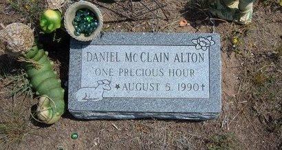 ALTON, DANIEL MCCLAIN - Baca County, Colorado   DANIEL MCCLAIN ALTON - Colorado Gravestone Photos